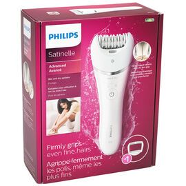 Philips Satinelle Wet/Dry Epilator - White - BRE610/00