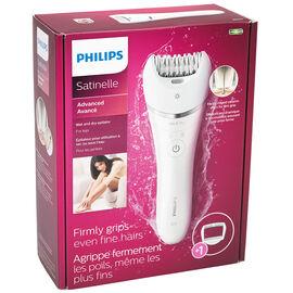Philips Satinelle Wet/Dry Epilator - White - BRE610/00