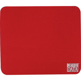 Certified Data Mouse Pad - Red - MP-1RED