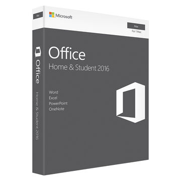 Microsoft Office Home & Student 2016 for Mac - 1 Mac