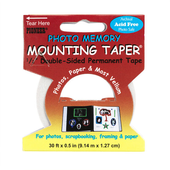 Pioneer Double Sided Photo Mounting Tape