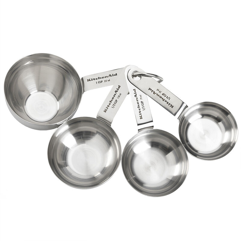 KitchenAid Measuring Cups Stainless Steel Set of 4 London Drugs