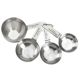 KitchenAid Measuring Cups - Stainless Steel - Set of 4
