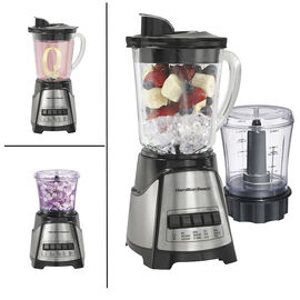 Hamilton Beach Power Elite Blender with 3-cup Chopper - Stainless Steel - 58149C