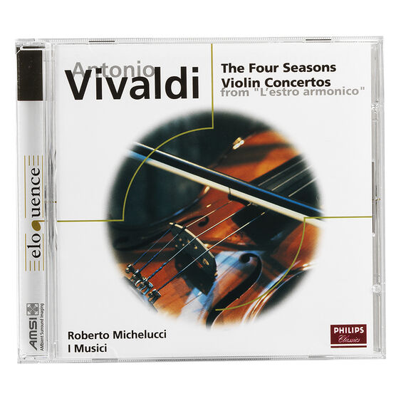 Roberto Michelucci - Vivaldi: Violin Concertos  - The Four Seasons - CD