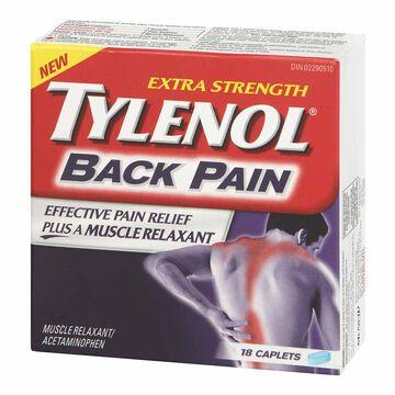 Tylenol* Back Pain - Extra Strength - 18's
