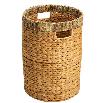 London Drugs Water Hyacinth Seagrass Round Hamper - Large