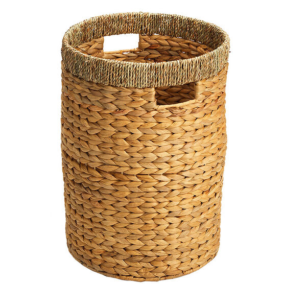 London Drugs Water Hyacinth Seagrass Round Hamper