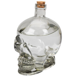 Bottle Skull with Cork - 760ml