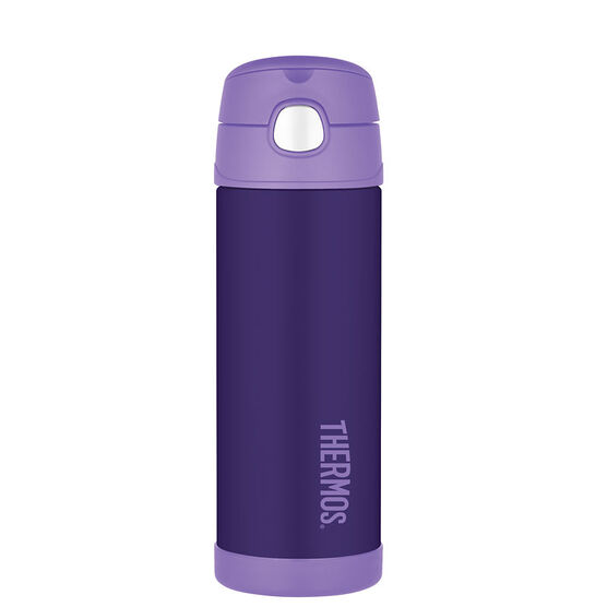 Thermos FUNtainer Bottle with Spout - Purple - 490ml