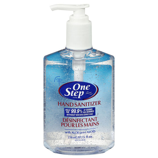 One Step Original Hand Sanitizer With Pump 236ml