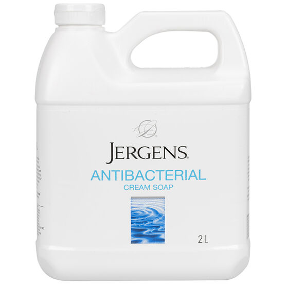 Jergens Antibacterial Cream Soap - 2L