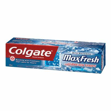 Colgate MaxFresh Whitening Toothpaste - Cool Mint - 130ml