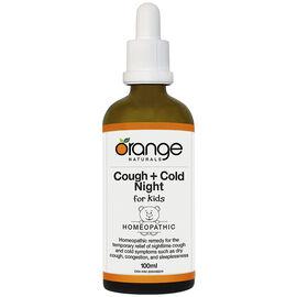 Orange Naturals Cough + Cold Night for Kids - 100ml