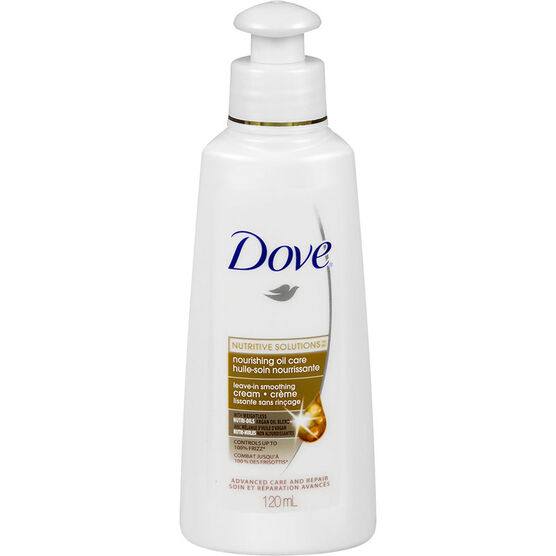 Dove Nutritive Therapy Nourishing Oil Care Leave-In Smoothing Cream - 120ml