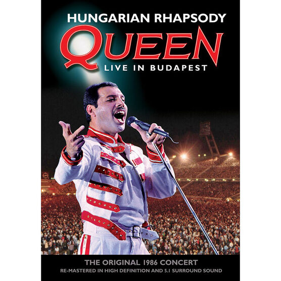 Queen - Hungarian Rhapsody - DVD