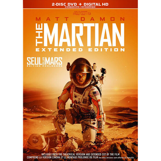 The Martian: Extended Edition - DVD