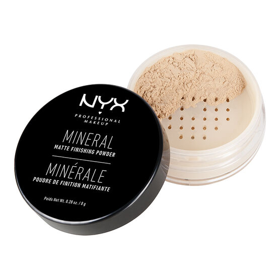 NYX Mineral Finish Powder - Light Medium