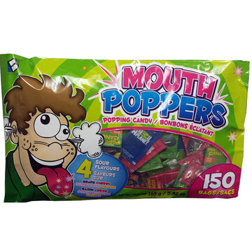 Mouth Poppers Assorted - Assorted - 150's
