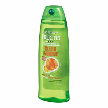 Garnier Fructis Sleek & Shine Shampoo - 384ml