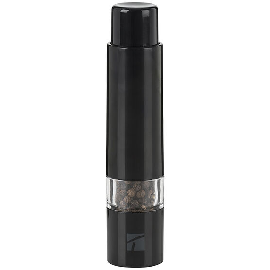 Trudeau Thumb Pepper Mill - Black - 6inch