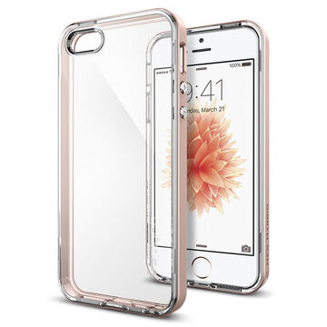 Spigen Neo Hybrid Crystal for iPhone 5/5s/SE - Rose Gold - SGP041CS20183