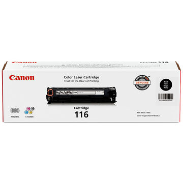 Canon 116 Toner Cartridge - Black - 1980B001