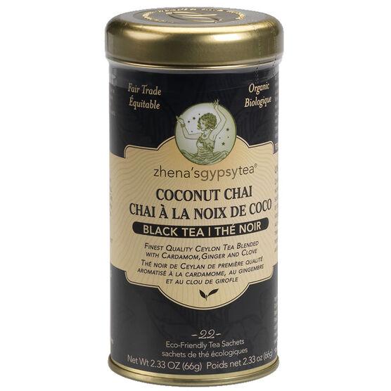 Zhena's Coconut Chai Tea - 22's