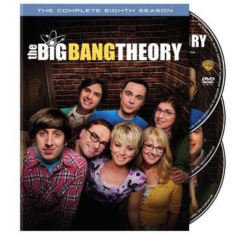 The Big Bang Theory: The Complete Eighth Season - DVD