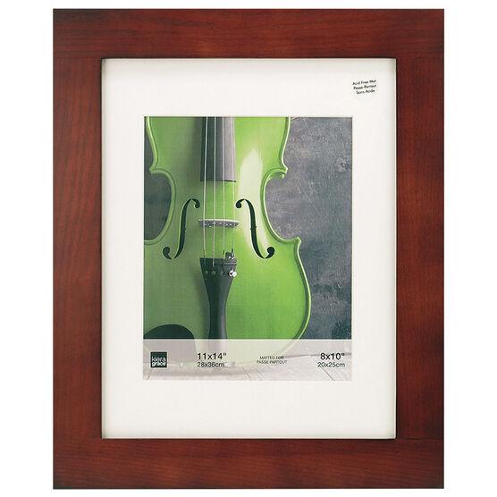 KG Aspen 11x14/8x10 Photo Frame - Walnut