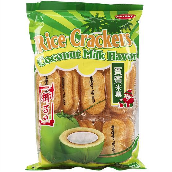 Bin Bin Rice Cracker - Coconut - 150g