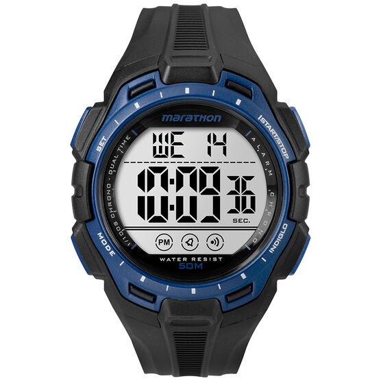 Timex Marathon Digital Watch - Black/Blue - TW5K9470070