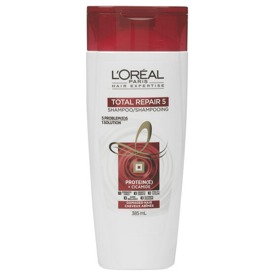 L'Oreal Total Repair 5 Shampoo - 385ml