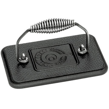 Lodge Cast Iron Grill Press - Black - 6.75inch