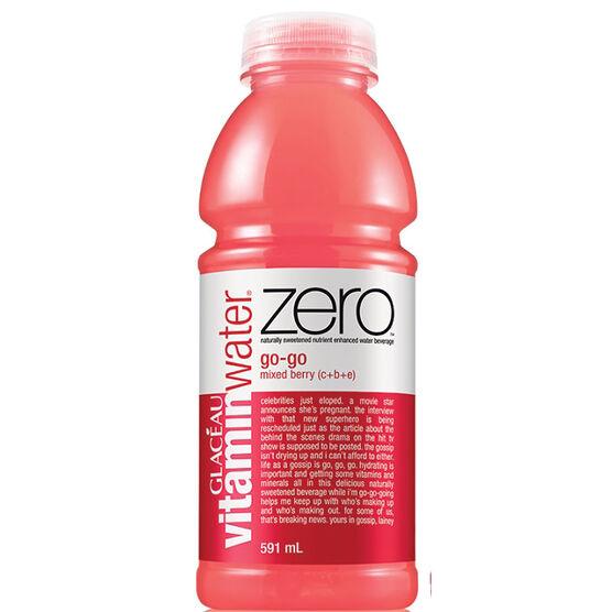 Vitamin Water Zero GO-GO- Mixed Berry - 591ml