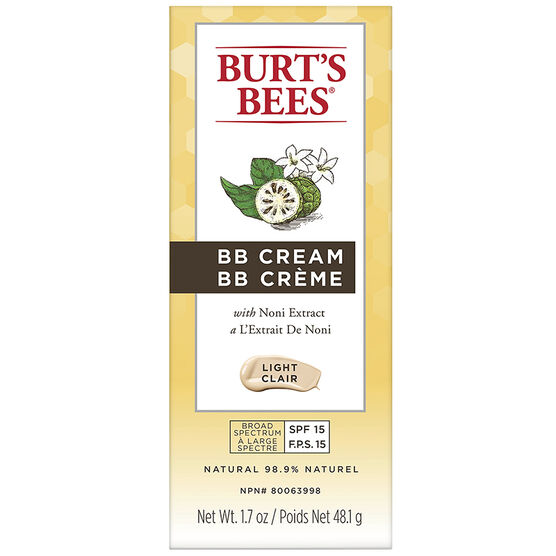 Burt's Bees BB Cream - Light - 48.1g