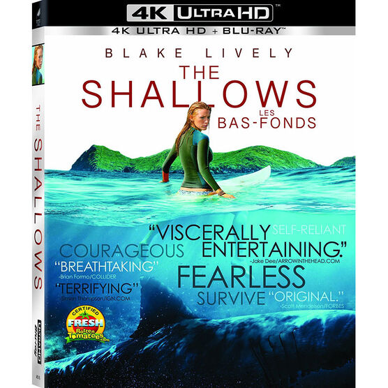The Shallows - 4K UHD Blu-ray