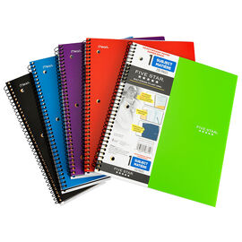 Five Star Heavywieght Notebook - Assorted