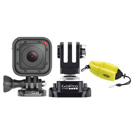 GoPro Hero Session with GoPro Ball Joint Buckle and Optex Floating Strap - PKG #33668