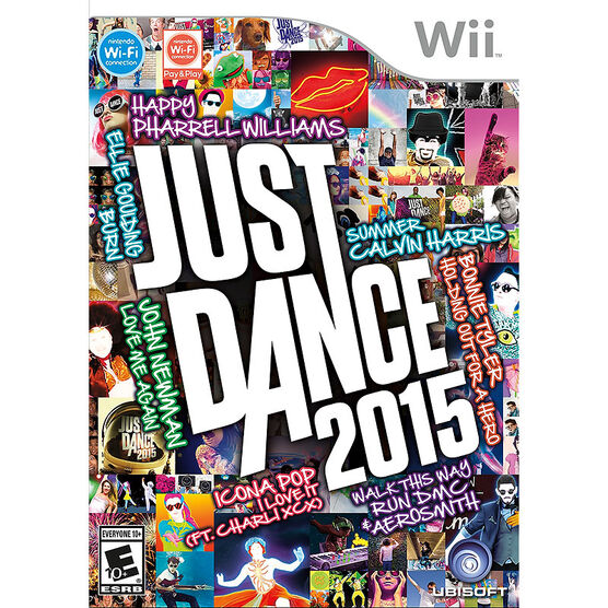 Wii Just Dance 2015