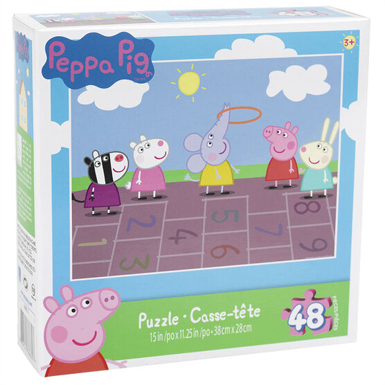 Peppa Pig Puzzle - 48 Pieces