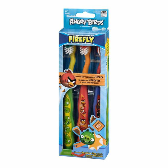 Dr. Fresh Angry Birds Toothbrushes - 3 pack