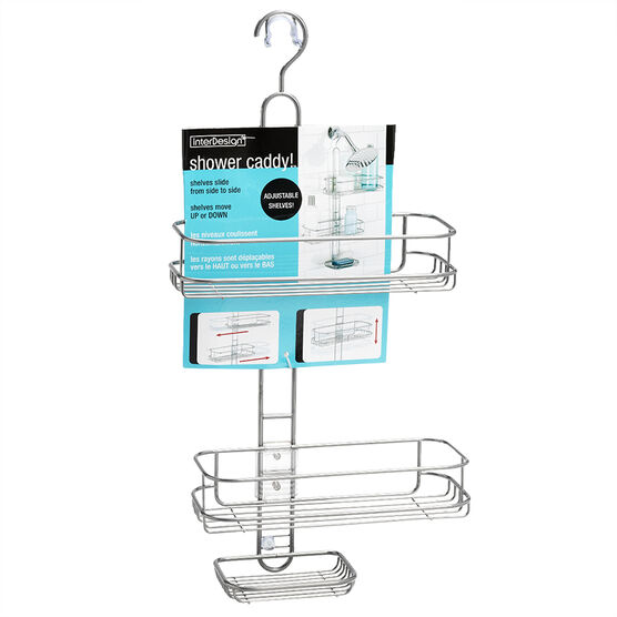 interDesign Adjustable Shower Caddy