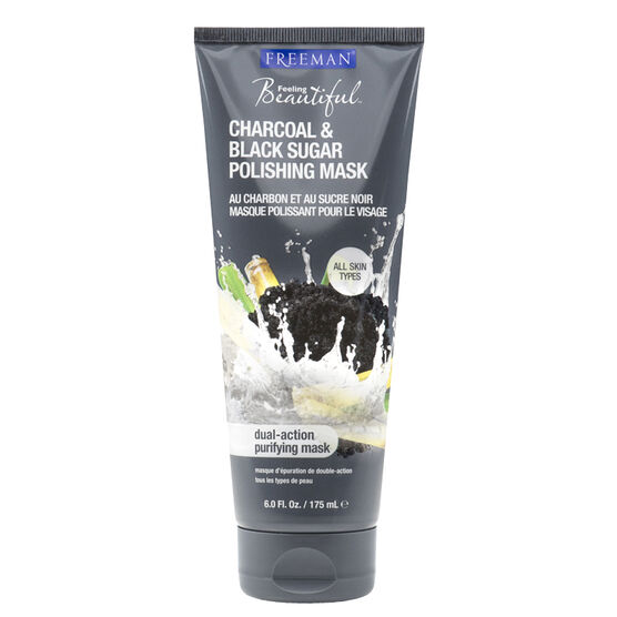 Freeman Feeling Beautiful Facial Polishing Mask - Charcoal & Black Sugar - 175ml