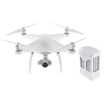 DJI Phantom 4 with Spare Intelligent Flight Battery - PKG 24654