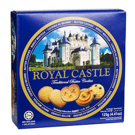 Royal Castle Butter Cookies - 125g