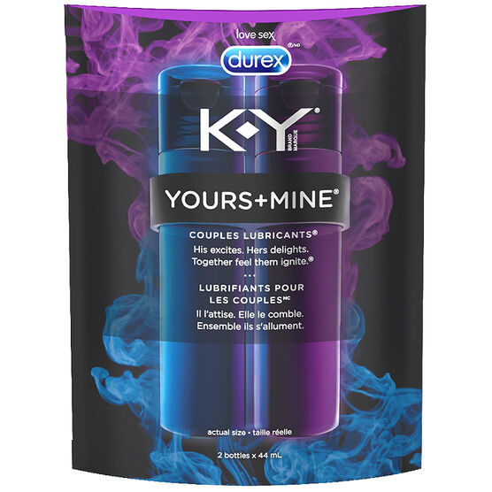 K-Y® Brand Yours+Mine Couples Lubricants - 88ml