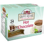 Grove Square Hot Chocolate - Mint - 24 pack