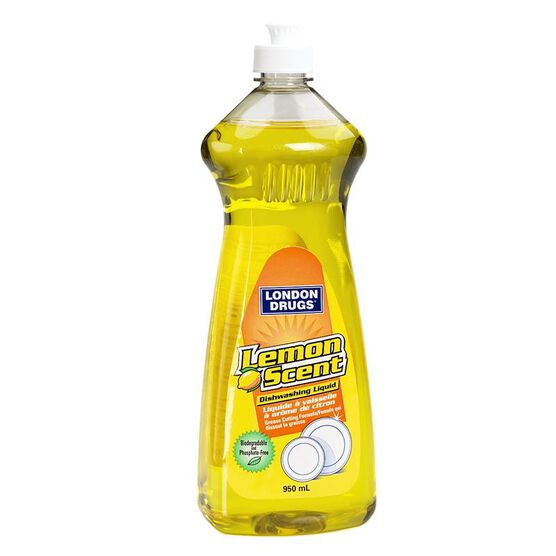 London Drugs Dishwashing Liquid Soap - Lemon - 950ml