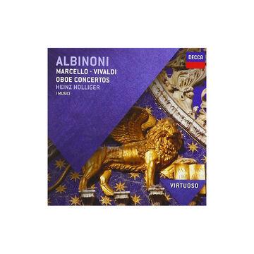 Heinz Holliger - Albinoni Oboe Concertos - CD